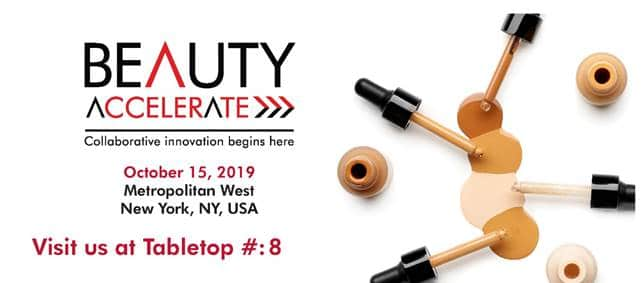 Jojoba organic skincare - Beauty Accelerate, NY, October 15, 2019